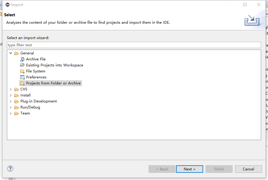 Eclipse 向工程中添加单个文件