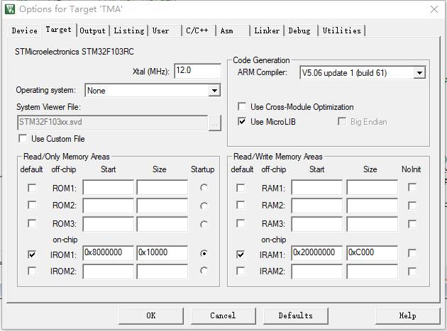 STM32烧写两段地址不同的程序